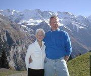 Ann's favorite spot high in the Alps in Seefeld, Austria