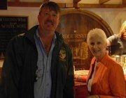 Bob and Ann Sonntag at a Virginia winery