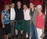 In Las Vegas with some Scottish friends, and sister Julie and Mike
