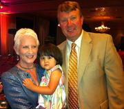 Ann and Bob with granddaughter Sophie