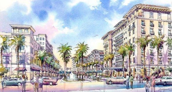 Rendering of Rida Development's $200 transit-oriented development
