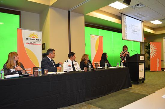 The Hispanic Chamber of Metro Orlando hosted a seminar in November on doing business with Colombia.
