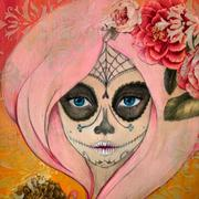 Day of the Dead festivities include dressing up with skull masks or skull makeup, and then dancing in honor of dead relatives, as well as visiting their graves.