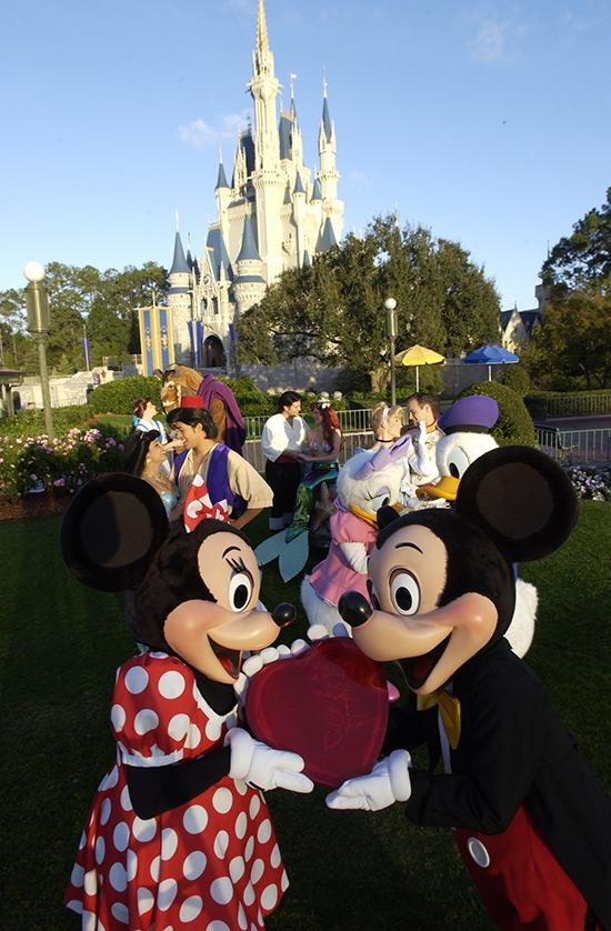 Walt Disney World is featuring its True Love Week, a Limited Time Magic event at the parks, through Feb. 17.