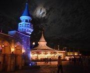 Fantasyland at 3:30 a.m. Still busy.