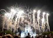 Nothing says magic like pyrotechnics.