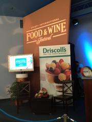 Driscoll's Berries continues to host several Authentic Taste seminars at the Epcot International Food & Wine Festival through mid-November.