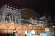 The work is still on at Fantasyland for the Seven Dwarfs Mine Train.