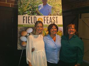 Katie Farmand, Pam Brandon and Heather McPherson authors of the new cookbook Field to Feast: Recipes Celebrating Florida Farmers.