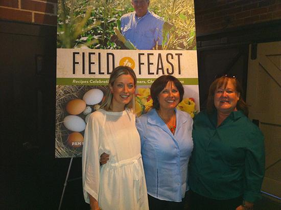 Katie Farmand, Pam Brandon and Heather McPherson authors of the new cookbookField to Feast: Recipes Celebrating Florida Farmers.