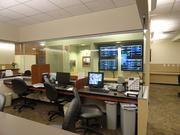 Another look inside the nurses station at Florida Hospital's new neurological unit.