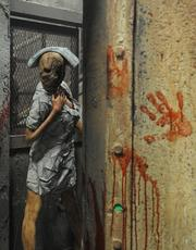 Characters and environments from the video game and movie series Silent Hill await visitors at Halloween Horror Nights 2012.