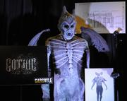 A gargoyle costume from the Gothic House on display during the Halloween Horror Nights 2012 media preview.