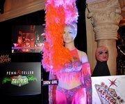 A costume from Penn & Teller's New(kd) Las Vegas house.