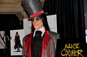 "A costume from the Alice Cooper ""Welcome to my Nightmare"" house."
