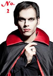 Vampire is the No. 2 most popular adult Halloween costume this year, according to NRF.