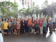 As part of Health Central's 60th birthday celebration, attendees gathered for a group photo.