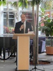 Health Central President Greg Ohe has taken over for Richard Irwin as president of the hospital.