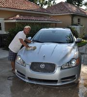 Joe Nunziata, chairman/co-CEO of FBC Mortgage LLC, drives a Silver 2010 Jaguar XF Sport.