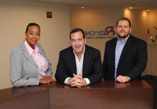 Meet Eureka Davis, T. Lee Cutler and Stephen Pickens from Kre8, a local media buying firm.