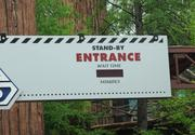 Hey, there's no wait time posted at Star Tours! That must mean there's no wait, right?