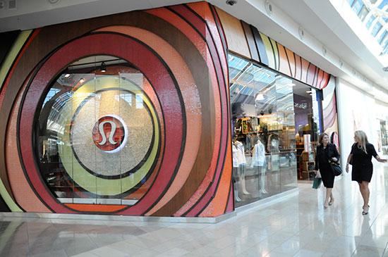 A Lululemon Athletica store