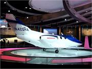 Companies display new aircraft models at the annual National Business Aviation Association convention.