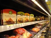 The expanded grocery section offers everything from sushi and Greek yogurt to sandwiches and salads.