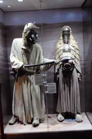 Costumes used in the Star Wars films on display inStar Wars: Where Science Meets Imaginationat Orlando Science Center.