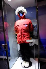 An arcitc snow suit is an example of real world adaptation to harsh climatesinStar Wars: Where Science Meets Imaginationat Orlando Science Center.
