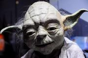 A Yoda puppet used in Empire Strikes Back and Return of the Jedion display inStar Wars: Where Science Meets Imaginationat Orlando Science Center.