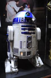 An R2D2on display inStar Wars: Where Science Meets Imaginationat Orlando Science Center.