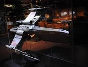 An X-Wing fighter model from the first Star Wars film on display inStar Wars: Where Science Meets Imaginationat Orlando Science Center.