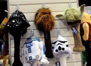 And so did the Star Wars golf club protectors! Yes. I knew I'd find Star Wars gear somewhere in here.