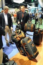 Custom golf luggage provides many ways to look stylish while waiting on the TSA.