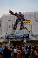 Local execs turn out for debut of Transformers: The Ride 3-D (Slideshow)