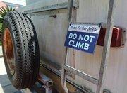 What? OK fine. Safety first. Blah, blah, blah.
