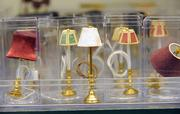 Minature lamps include wiring and working bulbs.