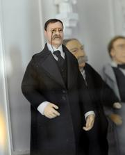A miniature likeness of Teddy Roosevelt inhabits the Presidential Museum.