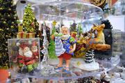 A variety of holiday themed miniatures are in stock year round.