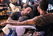 The Force is forever, especially if you got inked at the many tattoo artist booths on the convention floor.