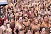 Members of the Leia's Metal Bikini costume club (oh yeah, it's real) gathered for their largest group photo to date during Star Wars Celebration 5. This is one of several reasons to look forward to Celebration 6.