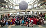 Members of the 501st Legion costume club traveled from across the country and across the globe to be part of Star Wars Celebration 5. The attending group of over 500 members came together for a rare legion-wide photo