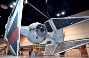 Prop builders from the 501st Legion costume club made an impression with this full-sized replica of an Imperial Tie-Interceptor from Return of the Jedi.