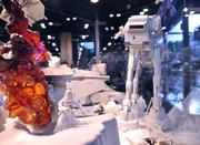 A diorama, made entirely of Star Wars toys and depicting the battle of Hoth from The Empire Strikes Back, was labored on for all 4 days of Star Wars Celebration 5. The project was open to any guest wanting to help build the scenes and bring their own Star Wars toys to add to the mix.