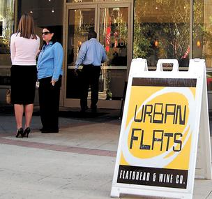 Urban Flats is moving from its current location in The Plaza to a new downtown location on Church Street, which will open on June 15.