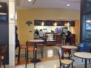 One consistent request from students was for a coffee bar, pictured.