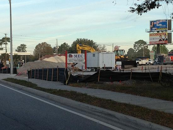 Another Wawa is now under construction at the northeast corner of Curry Ford and Goldenrod roads.