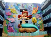 The new 864-room Little Mermaid wing of Disney's Art of Animation Resort was the last of the four sections to open at the new hotel.