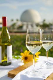 Enjoy the wines and other drinks at Epcot's festival, but remember to drink your water, also.
